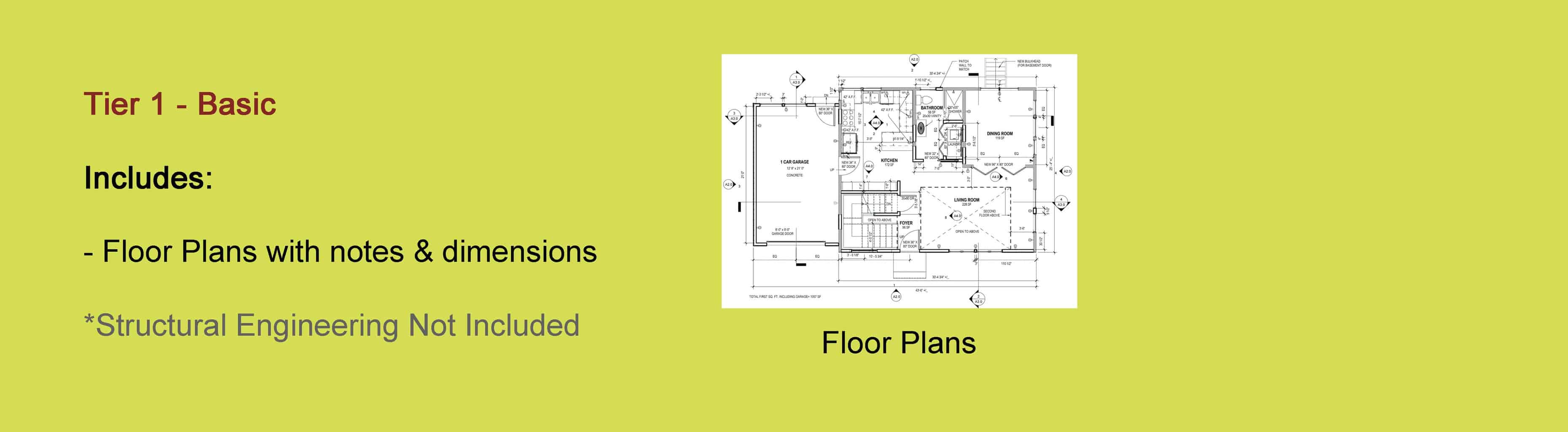 On Some Occasion The Only Drawings That Clients Need Is Floor Plans Plan Include Dimensions Notes And Sometimes Demolition