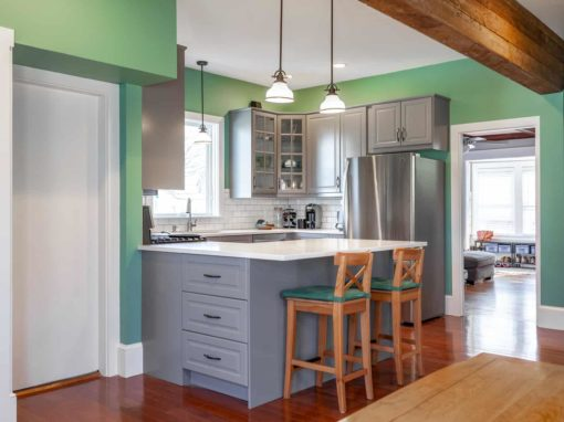 Kitchen Renovation<BR>Beverly, MA