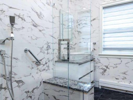 Bathroom Renovation<BR>Beverly, MA