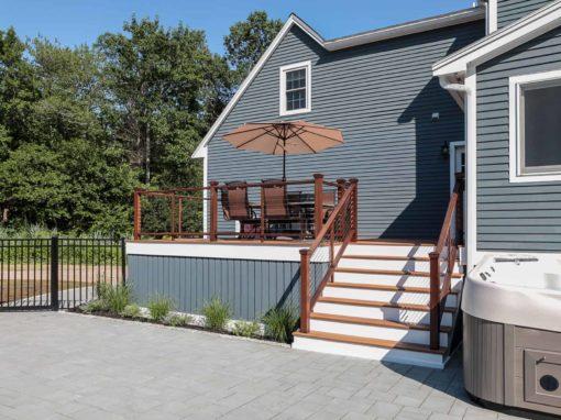 Deck Design & Construction<BR>S. Hamilton, MA